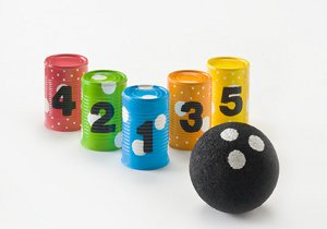 54 recycled crafts for kids favecrafts this soup can bowling craft is a two for one project kids can spend time making this craft and then they get to use it as a fun activity solutioingenieria Gallery