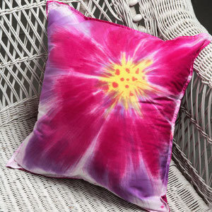 Sunburst Blossom Pillow