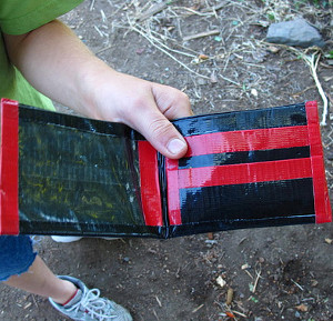 Duct Tape Wallets