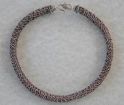 Crown Sinnet Tubular Wire Braiding | AllFreeJewelryMaking.com