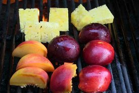Summertime Grilled Fruit