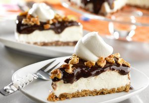 Frozen Chocolate Chunk Cookie Mud Pie