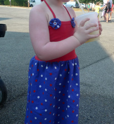 Fourth of July Fireworks Dress