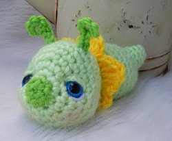 Amigurumi Flower Bug