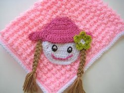 Baby doll crochet blanket allfreecrochet surprise your baby girl with this precious baby doll crochet blanket this easy crochet pattern can be made in any size you want and the colors can be dt1010fo