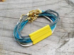 """Easy DIY Bracelet Designs: 14 Ways to Make Bracelets"" eBook"