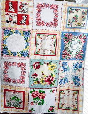Vintage Hankie Quilt For Baby Favequilts Com