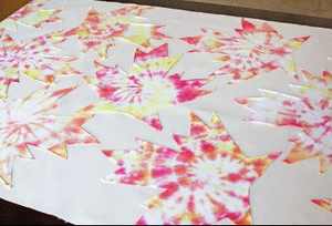 Tie-Dye Tablecloth