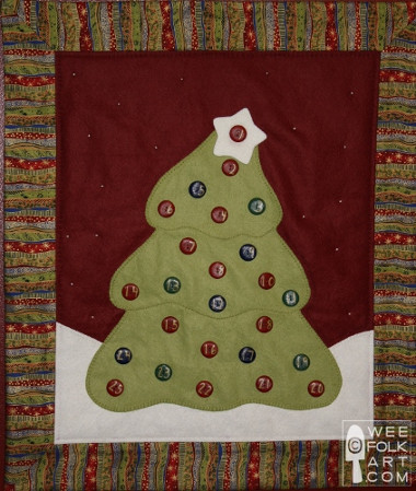 14 Christmas Tree Quilt Patterns