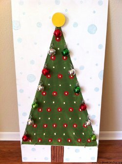 Light Up Tree Advent Calendar