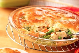 The Easiest Chicken Pot Pie
