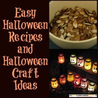 12 Easy Halloween Recipes and Halloween Craft Ideas