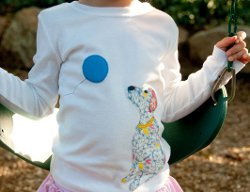 Easy Doggie Applique Shirt for Kids