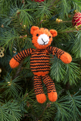Tracy the Tiger Ornament
