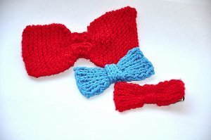 Addictive Knit Bows