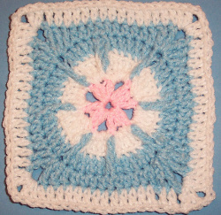 Baby Flower Square