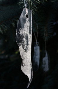 Plastic Icicle Ornaments