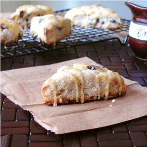 Sweetest Cranberry Orange Scones