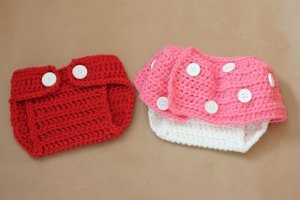 Mickey and Minnie Inspired Diaper Covers