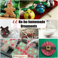 66 Ho-ho-homemade Ornaments: Decorate Your Tree With Kids' Christmas Crafts