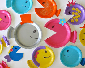 Fintastic Paper Plate Fish