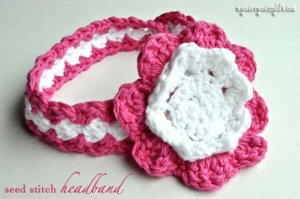 50 crochet headband patterns allfreecrochet seed stitch baby headband dt1010fo