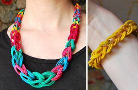 Chic Chain Rubber Band Jewelry