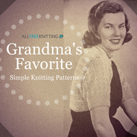 20 of Grandma's Favorite Simple Knitting Patterns