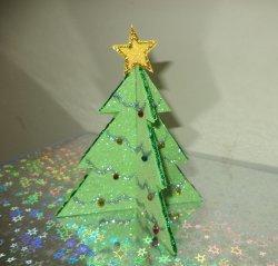 glitter paper christmas tree allfreechristmascraftscom