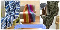 17 Favorite Throw Patterns to Crochet