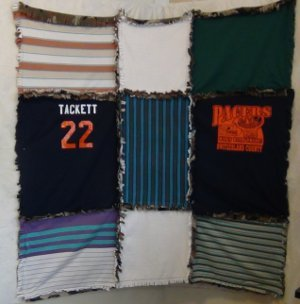 Ragged t shirt quilt instructions for How to make t shirt quilts easy