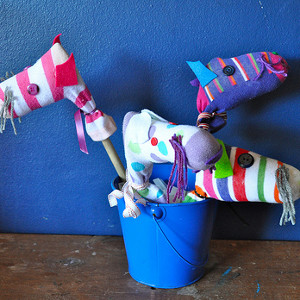 Mini Homemade Toy Hobby Horse