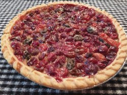 The Easiest Cranberry Pie Recipe