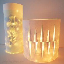 Light Up Recycled Lanterns