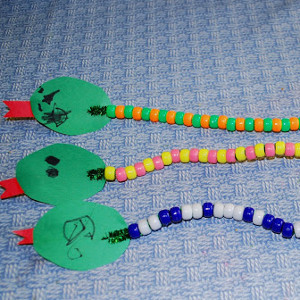 Slinky Bead Snake Craft