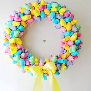 Sweet Spring Peep Wreath