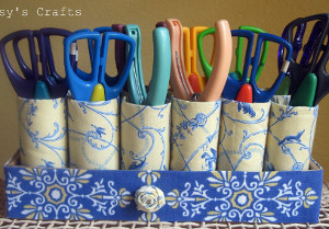 Frugal and Fancy Fabric Storage Solutions