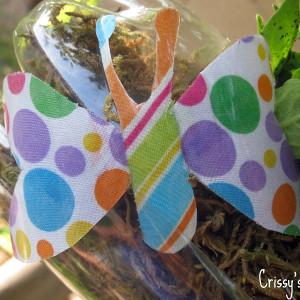 Better for the Earth Butterfly Craft
