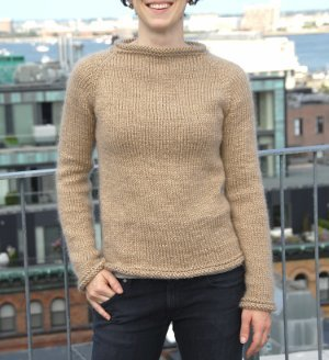 Nutmeg Raglan Sweater