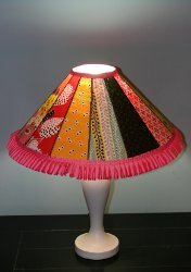 Dresden Plate Lampshade