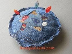 Denim Pocket Pincushion