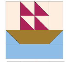 Smooth Sailing Quilt Block