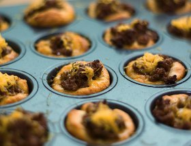 Muffin Tin Bisquick Puffs