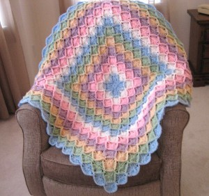 41 easy crochet baby blanket patterns favecrafts bavarian rainbow afghan dt1010fo