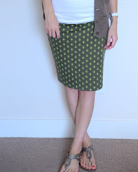 Number One Pencil Skirt