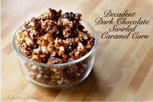 Dark Chocolate Caramel Corn