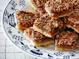 Old Fashioned Pecan Pie Bars