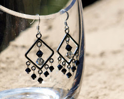 Shining Chandelier Crystal Earrings