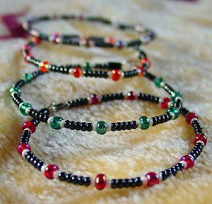 Easy Beaded Stacking Bracelets