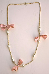JCrew Inspired Pearl Necklace